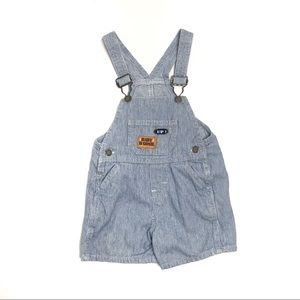 VTG OshKosh B'Gosh | Railroad Stripe Overalls